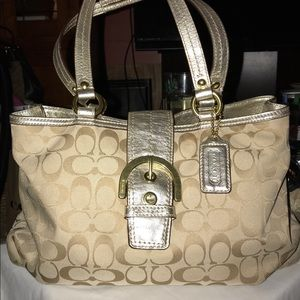 Coach Tote Handel/Shoulder Bag